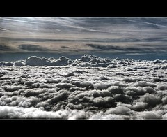 The World Above Us (Steffen Jakob) Tags: sky cloud clouds himmel wolken flyby