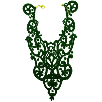 Malin Collection's lace bib necklace