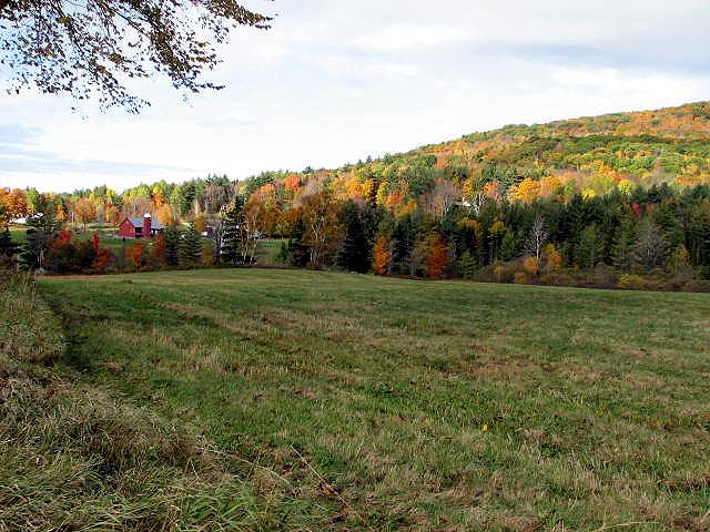 Vermont in October