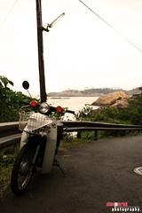 (Shimmi Erick) Tags: old sea lighthouse nature bike vespa scooter