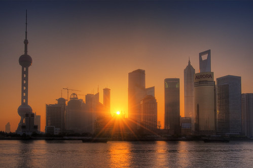 Shanghai - here comes the new day