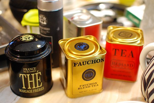 Trio of Parisian tea