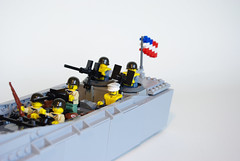 LCVP (3) (Dunechaser) Tags: lego wwii worldwarii ww2 landingcraft normandy dday lcvp higginsboat brickarms landingcraftvehiclepersonnel