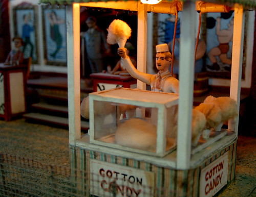 Cotton Candy, from the Miniature Circus