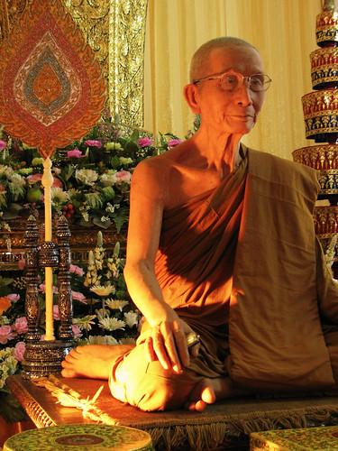 Hyperreal monk sculpture - Chiang Mai, Thailand