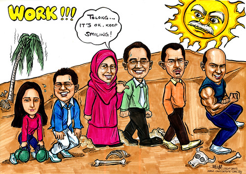 Group caricatures for Morgan Stanley Part 4 - A4 (edited)