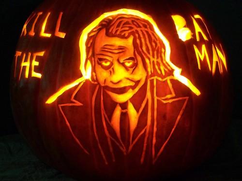 calabaza del Joker