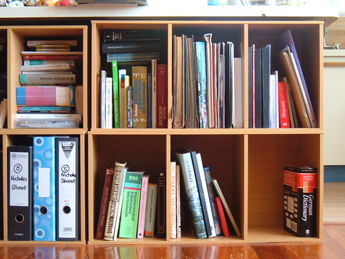 small bookshelf (by Chris Ebbert)