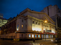 Opera House 3014 (stagedoor) Tags: new city england cinema architecture manchester teatro kino theater theatre olympus cine lancashire queens e3 bingo operahouse grade2 listed greatermanchester quaystreet gradeii