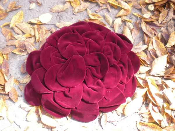 Fall Foliage Petal Hat