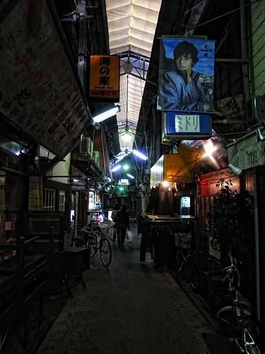 歴史ある商店街