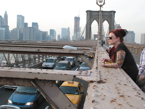 Brooklyn Bridge Traffic & Amy