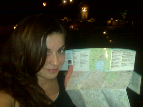 Me and my map of bangkok