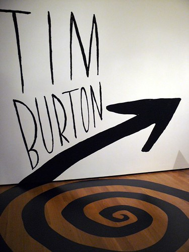 Tim Burton at MoMA by Trish Mayo.