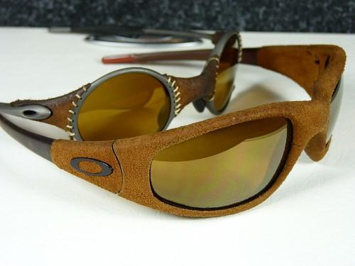 fcd36b5de Oakley Straight Jacket Suede vs Mars Leather w/Gold Irid
