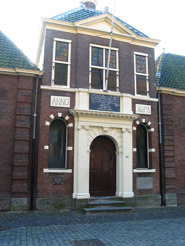 Jean Pesijnshofje almshouse Leiden