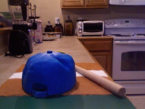 baseball cap outline. with a aseball cap,