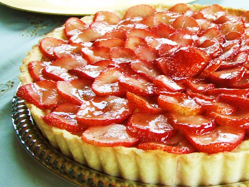 strawberry tart - 01