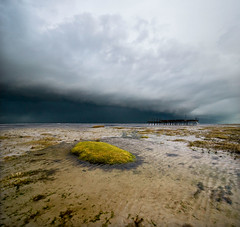 Raging elements (Danil) Tags: cloud seascape storm holland beach nature netherlands weather strand landscape wadden waddeneiland nikon daniel tag dune nederland noordzee northsea thunderstorm lightning groningen nikkor friesland schiermonnikoog eb duin d300 beachscape vanderwerf 1024mm vertorama