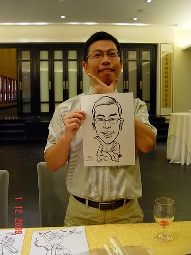 Caricature live sketching for Siam Express - 5