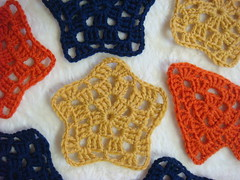 Granny Stars and Trees! (*Mormor*) Tags: stars crochet granny royalsisters