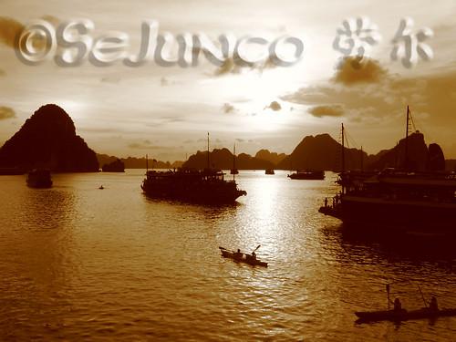 Bahia De Halong - Amarre primera noche