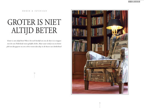 Tulp Magazine - A warm house, pages 1&2