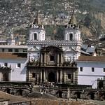 Quito: fachada de la iglesia de San Francisco, S. XVI