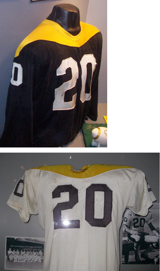 8fc4d68a5 Many fans aren't aware -- and others would rather forget -- that the  Steelers wore these jerseys ...