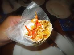 地中海式  捲餅