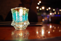 Candle (Jonathan :D) Tags: blue yummy nikon shanghai frog burgers d40