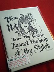 Thou Shalt Not... [print]