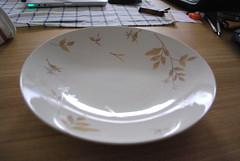 たち吉のカレー皿
