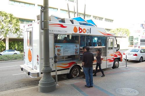 Bool BBQ truck