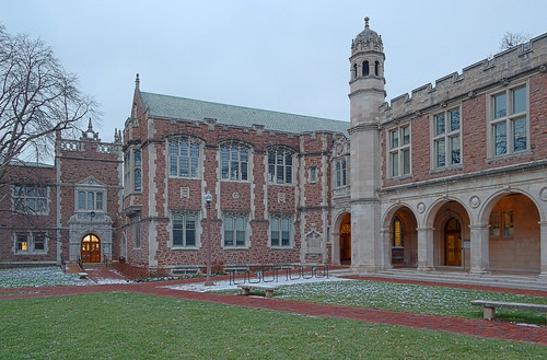 Washington University, in Saint Louis, Missouri, USA - January Hall