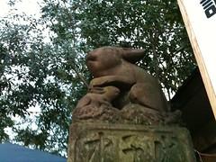 調神社(つきじんじゃ・つきのみや)初詣2010