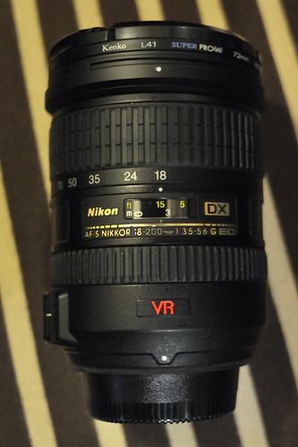 18-200mmVR 鏡頭維修花了一萬三