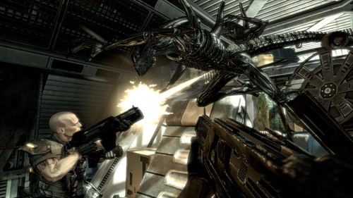 Aliens vs Predator review screenshots