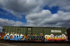 SONE THERD (Rail Junk) Tags: train graffiti rail graff railfan freight rh koo rxr