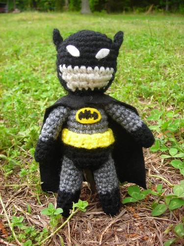 Free Amigurumi Batman Pattern : CROCHET PATTERN + BATMAN - Crochet Club