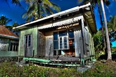 Hanging Windows (VespaTS) Tags: house beach rotting asia pentax decay burma myanmar birma hdr k5 smcpentaxda15mmf4edallimited burma2010