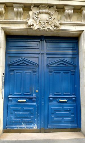 Cobalt Blue Door