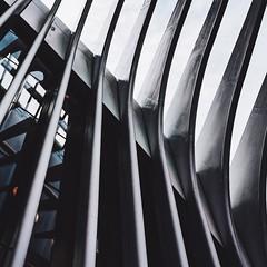 Titanium (Panda1339) Tags: nyc leicaq summiluxq 28mm usa oculus worldtradecenter minimal urban spikes spines abstract architecture grey