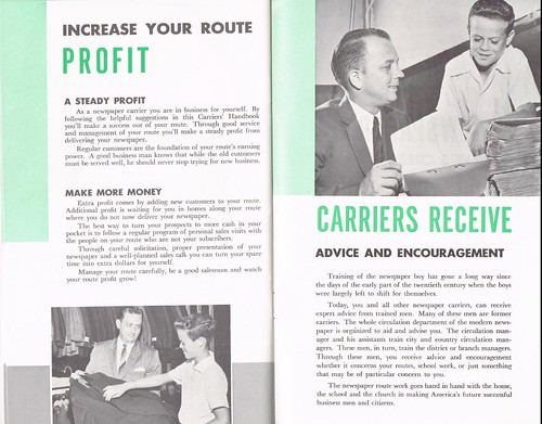 Newspapers Carrier Handbook - pages 28-29