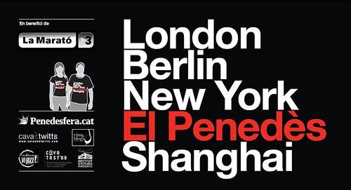 Poster Samarreta Solidària El Penedès