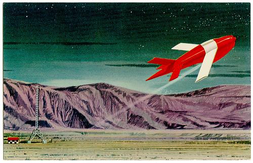 Ryan Firebee Jet Drone_postcard front_tatteredandlost