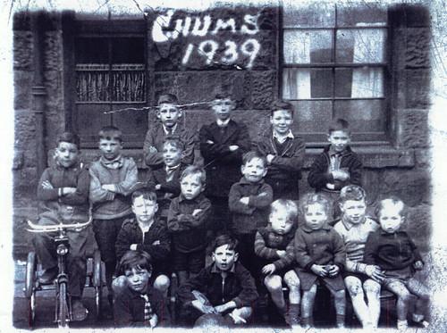 Govan Chums, 1939.
