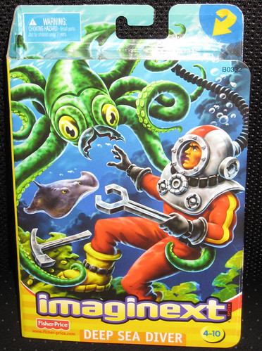 Fisher-Price Imaginext™ Deep Sea Diver (2002)