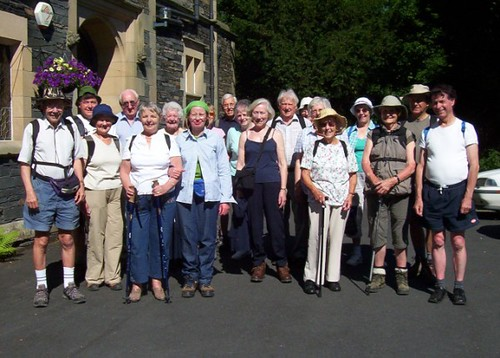 Group outside Windermere Centre