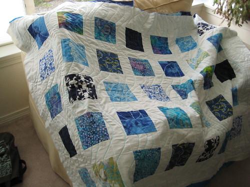 Sea Blue Sea Quilt